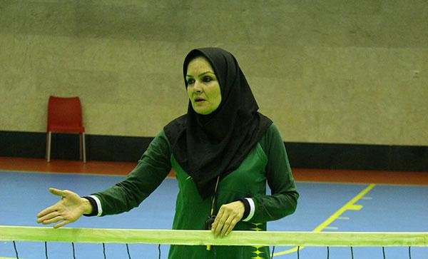 فریبا سلیمانی، سرمربی تیم والیبال نشسته بانوا